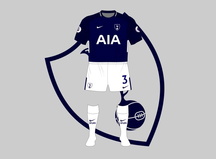 Tottenham-Hotspur-Spurs-2017-2018-Nike-away-white-shorts-socks