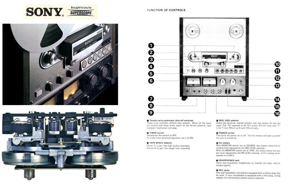 medium resolution of 1978 ad for the sony tc 765 recorder reel tape recorder in the reel2reeltexas