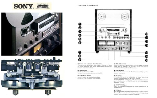 small resolution of 1978 ad for the sony tc 765 recorder reel tape recorder in the reel2reeltexas