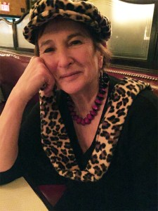 Me at Balthazar in NY, Feb. 2015