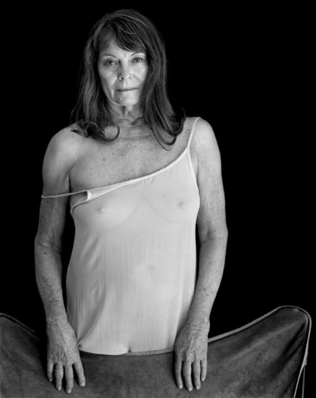 Woman in a White Slip, 2014