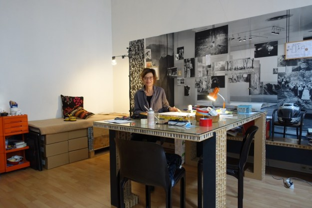 Steichen and me in my studio