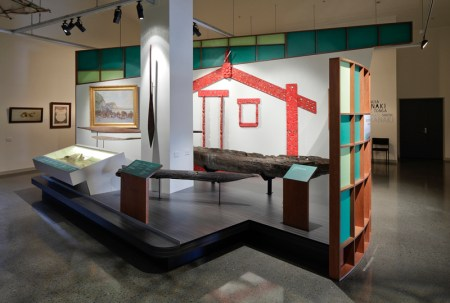 COPYRIGHT RICHARD WOTTON - Patea Museum interior 15