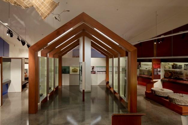 COPYRIGHT RICHARD WOTTON - Patea Museum interior 20