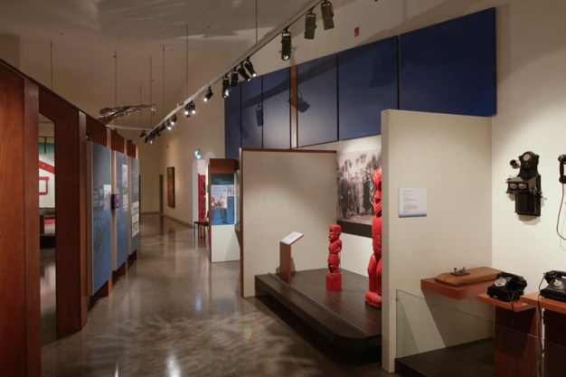 COPYRIGHT RICHARD WOTTON - Patea Museum interior 7