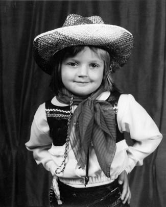 Tawhiti School Fancy Dress, Child, 1976, #5324
