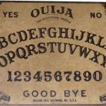 Doc Ravencraft's Fuld Ouija board from the 1960s