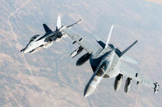 three navy ea 18g