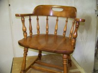 Re-glued & Restored Captains Chair