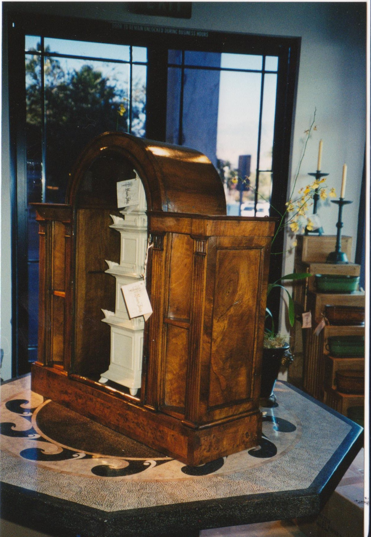 Display Cabinet Restored Museum Quality Restoration Services