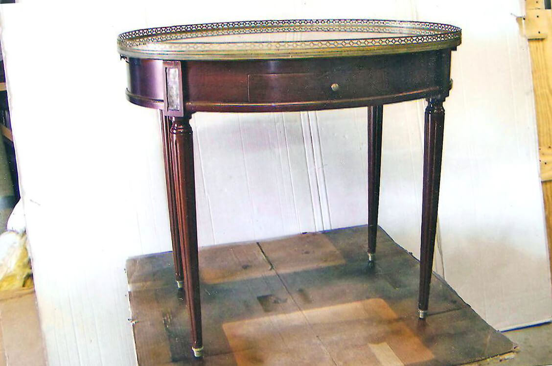 Indian Wells Furniture Restoration French Marble Top End