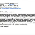 Holt Hayward Letter of Recommendation