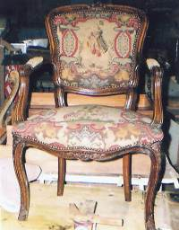 Antique Needlepoint Chairs | Antique Furniture