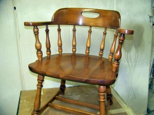 Restored Captains Chair 01