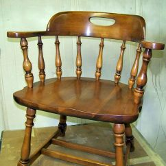 Captains Chair Resin Folding Chairs Re Glued And Restored