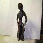 Ebony Wood Sculpture Repair