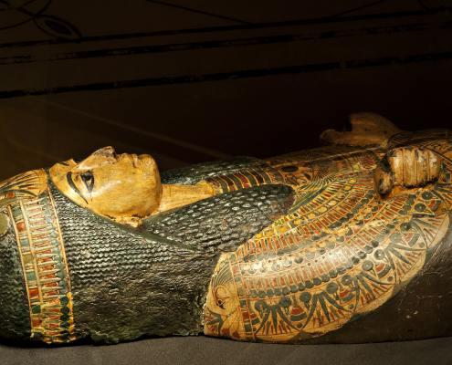 Leeds City Museum Ancient Worlds Gallery