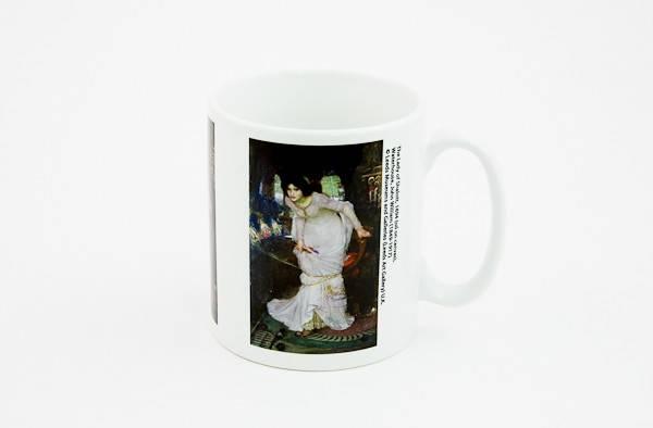 Lady of Shalott Mug pic
