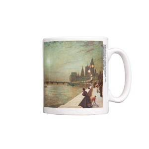Reflections on the Thames Mug pic 1