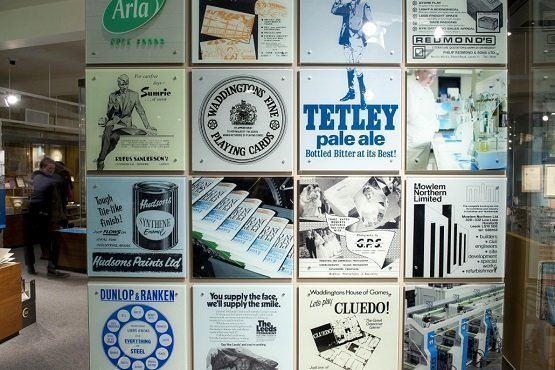 Old Leeds adverts, beer mats and playing cards