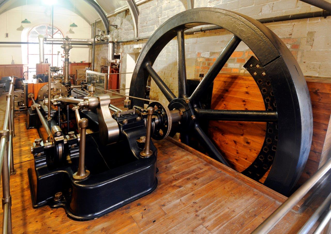 image of the mill engine