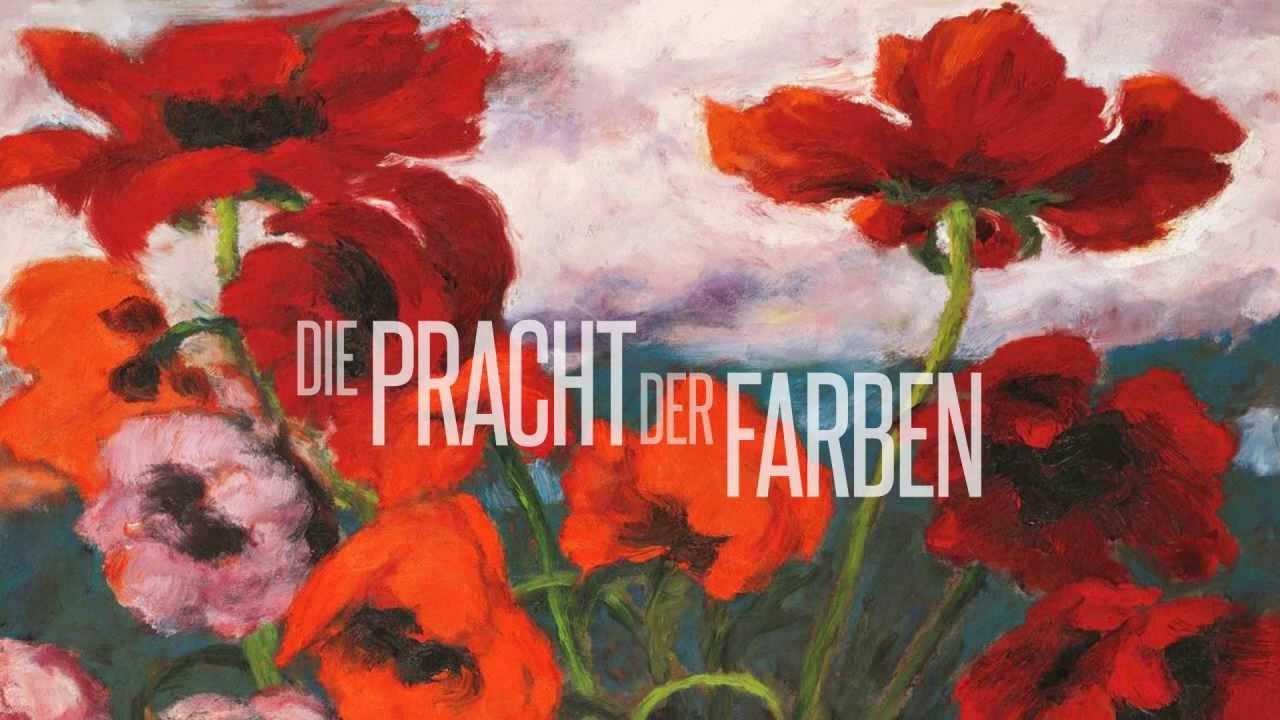 Emil Nolde Die Pracht der Farben Ausstellung im Museum