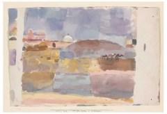 Zentrum Paul Klee – Paul Klee – vor den Toren v. Kairuan, 1914
