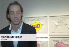 Bank Austria Kunstforum – Ausstellungseröffnung Alf Poier
