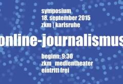 ZKM: GLOBALE: Online-Journalismus und die 4. Macht