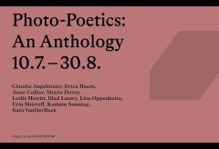 Deutsche Bank KunstHalle: Photo-Poetics: An Anthology