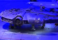 Miniatur Wunderland: Star Wars Falcon emergency landing