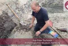 Archäologie vor Ort erklärt – Harburger Schloßstraße