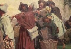 Willy Spatz, Gang der Hirten zur Heiligen Familie, 1892 – Kunstwerk des Monats März im Museum Kunstpalast