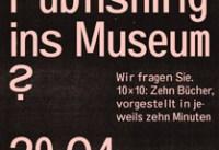 Self-Publishing – Ein neues Sammlungsthema des Museums?