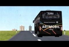 ART MOBIL Shuttlebus verbindet Schule und Museum