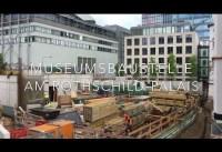 Die Baustelle des neuen Jüdischen Museums Frankfurt