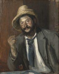 NM Grh 2322 Louise Caterine Breslau: Ernst Josephson, 1851-1906 Opd, 81 x 65 cm