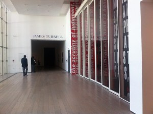 Turrell at LACMA Entrance