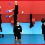 David Hockney-The Jugglers, LACMA