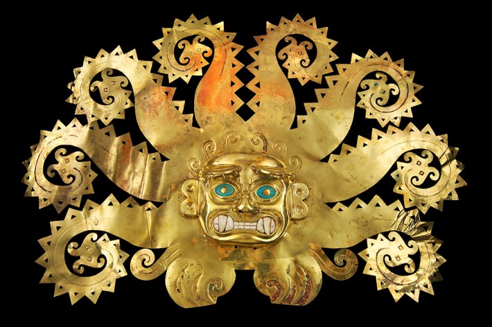 On view in Golden Kingdoms at the Getty Museum, closing this Sunday, Jan 28.