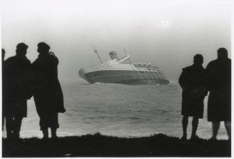 """Wahine"" from Seatoun Beach, 10, April 1968"