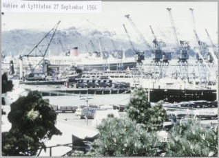 TEV Wahine at Lyttleton 27 September 1966