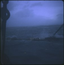 TEV Wahine wreck in stormy weather