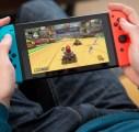 La Switch entre nos mains dans le salon de Nintendo