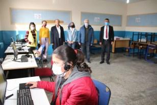 Varto Dernekleri Federasyonundan eğitime bilgisayar desteği