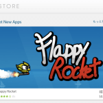 紹介アプリ:Flappy Rocket for Leap Motion