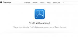 TestFlight has moved