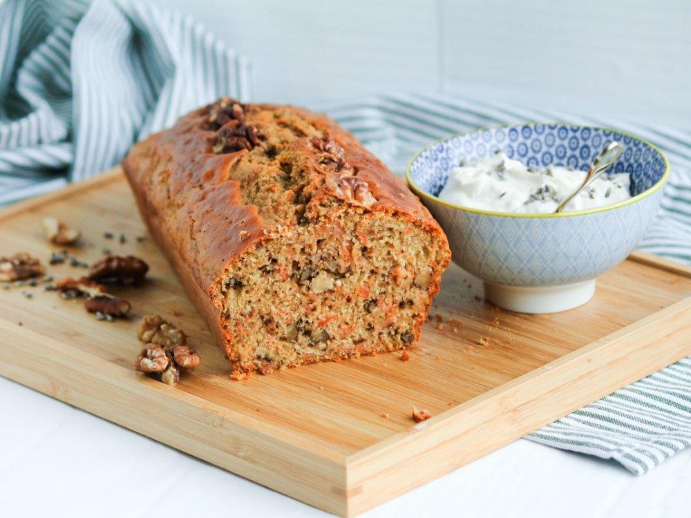 carrot cake loaf