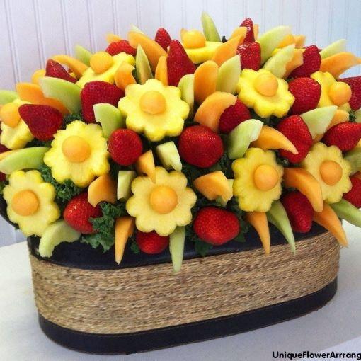 Boda Tenerife decoración frutas