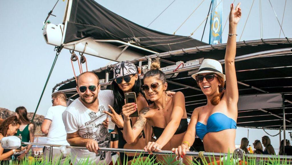 Boat party las americas. Fiestas en barco
